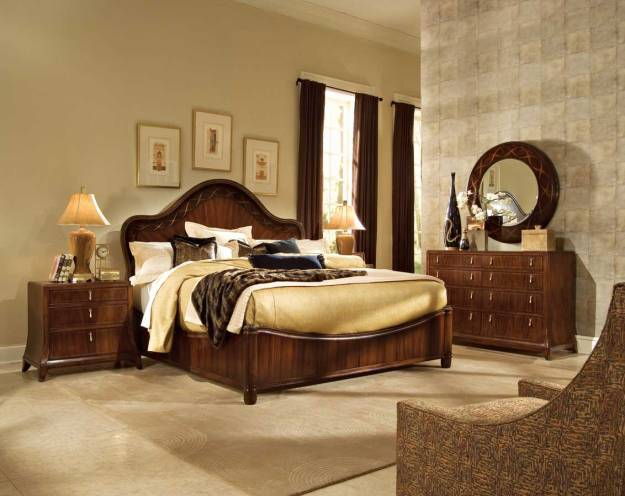 Bob Mackie Home-Signature Panel Bedroom Collection by American Drew